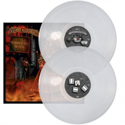 HELLOWEEN - Gambling With The Devil / CLEAR 2-LP Gatefold