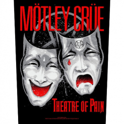 mötley crüe theatre of pain backpatch