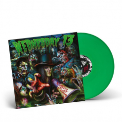 56215 wednesday 13 calling all corpses green lp punk
