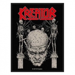 kreator skull and skeletons patch