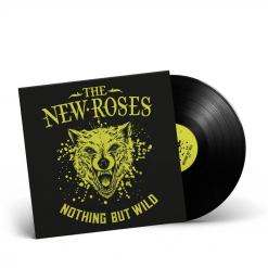 THE NEW ROSES - Nothing But Wild / BLACK LP Gatefold