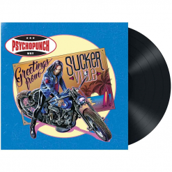 psychopunch - greetings from suckerville - black lp - napalm records