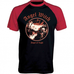 angel witch - angel of light - baseball shirt - napalm records