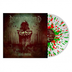 decapitated - blood mantra - clear green red splatter lp  napalm records