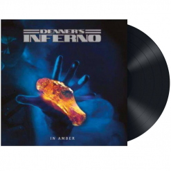 denners inferno - in amber - black lp - napalm records