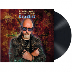 rob halford with familty and friends celestial lp