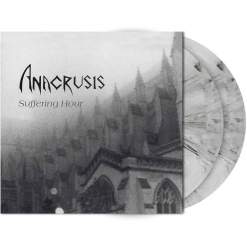 anacrusis - suffering hour - light grey- black marbled 2-lp - napalm records