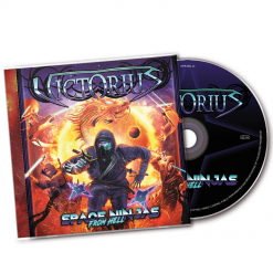 victorius space ninjas from hell cd