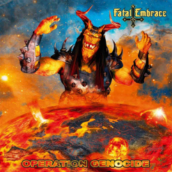 fatal embrace - operation genocide - cd - napalm records