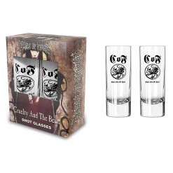 cradle of filth cruelty and the beast shot glasses