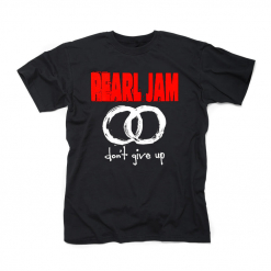 60081 pearl jam don't give up t-shirt