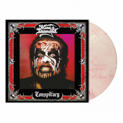 king diamond conspiracy red white marbled vinyl