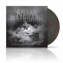 anaal nathrakh in the constellation of the black widow grey green marbled vinyl
