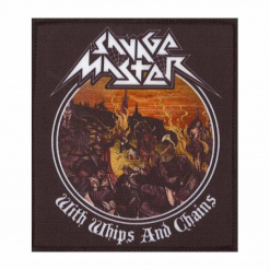 savage master with whips and chains patch