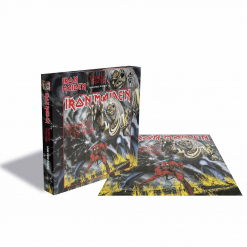 iron maiden the number of the beast jigsaw puzzle