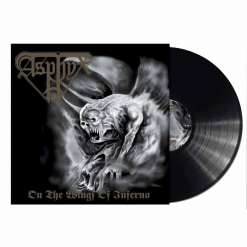 asphyx on the wings of the call black vinyl