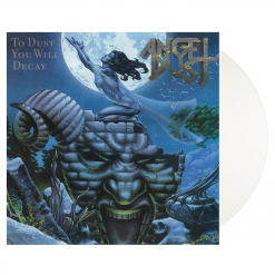 angel dust to dust you will decay white vinyl