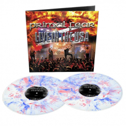 primal fear live in the usa white blue red marbled vinyl