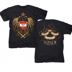 napalm records austrian rock and metal empire golden eagle t shirt