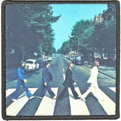 the beatles abbey road album cover patch