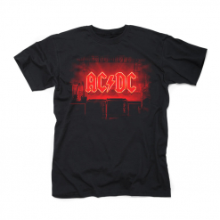 ac dc pwr up cover t shirt