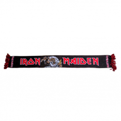 iron maiden number of the beast scarf