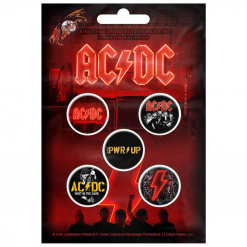 acdc pwr up button pack