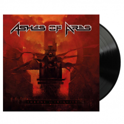 ashes of ares throne of iniquity black vinyl
