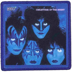 kiss creatures of the night patch
