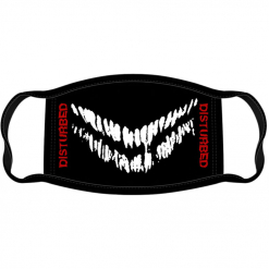 disturbed mouth face mask