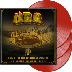 udo live in bulgaria 2020 the pandemic survival show red vinyl