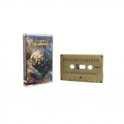 phlebotomized pain resistance suffering cassette tape