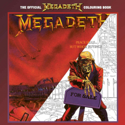 The Official Megadeth Colouring Book