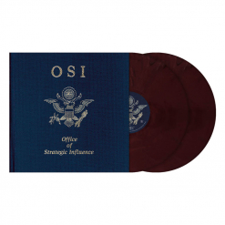 Office Of Strategic Influence - RED BLACK Marbled 2- Vinyl