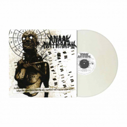 When Fire Rains Down From The Sky, Mankind Will Reap As It Has Sown (RI) - CLEAR FOG WHITE Marbled Vinyl