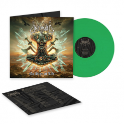 Unleashed - No Sign of Life - Clear Green Vinyl