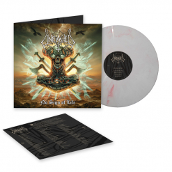 Unleashed - No Sign of Life - Red White Marbled Vinyl