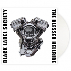 The Blessed Hellride - OPAQUE WHITE Vinyl