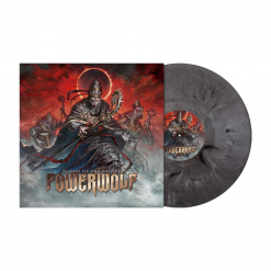 Blood Of The Saints (10th Anniversary Edition) - SILVER BLACK Marbled Vinyl
