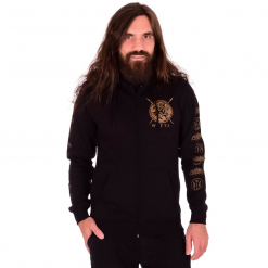 wolves in the throne room thrice woven zip hoodie