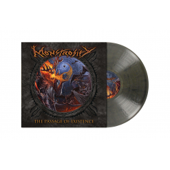 MONSTROSITY - The Passage of Existence / TRANSPARENT GREY/BROWN Marbled LP