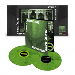 Slow, Deep And Hard - CLEAR GREEN Mixed 2-Vinyl